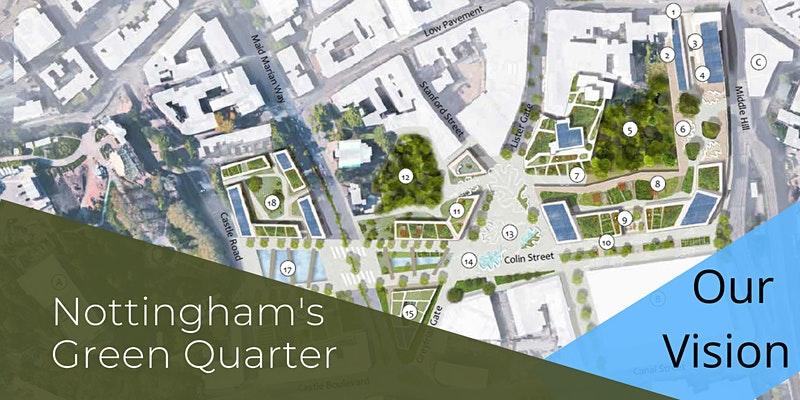Event: Launch of the Green Quarter vision for Nottingham Broadmarsh